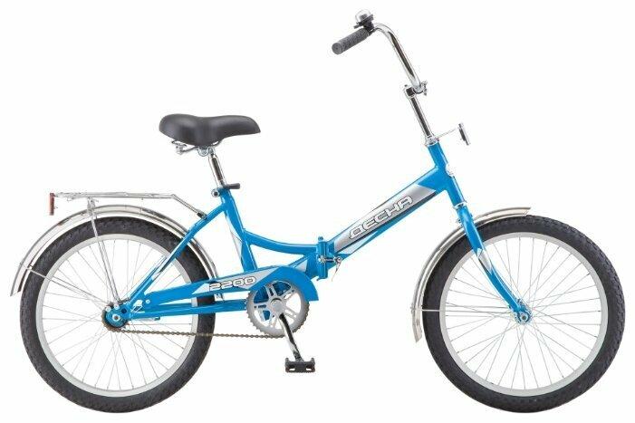 Городской велосипед Десна 2200 (2018) синий (требует финальной сборки)