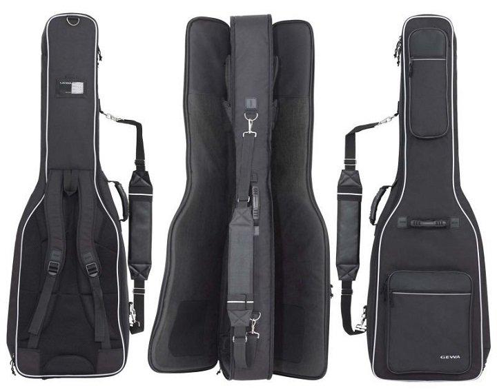 GEWA Prestige 25 E-Bass/E-Guitar Двойной чехол для электро- и бас-гитары, водоустойчивый, утепленный 25 мм