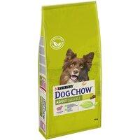 Dog Chow Adult корм для собак старше 1 года, с ягненком, 14 кг