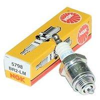 Свеча зажигания NGK BR2LM 5798 Для бензопил, газонокосилок и др. техники