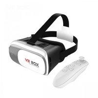 Очки виртуальной реальности VR BOX 2.0 (с джойстиком)