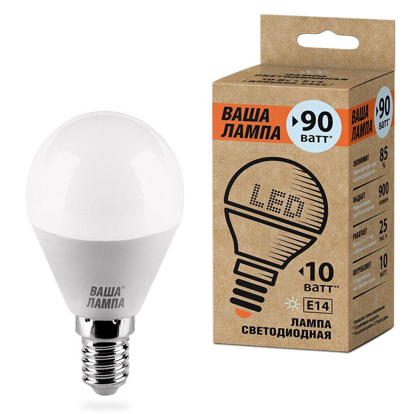 Лампа Wolta E14 10Вт 4000K — купить по выгодной цене на Яндекс.Маркете