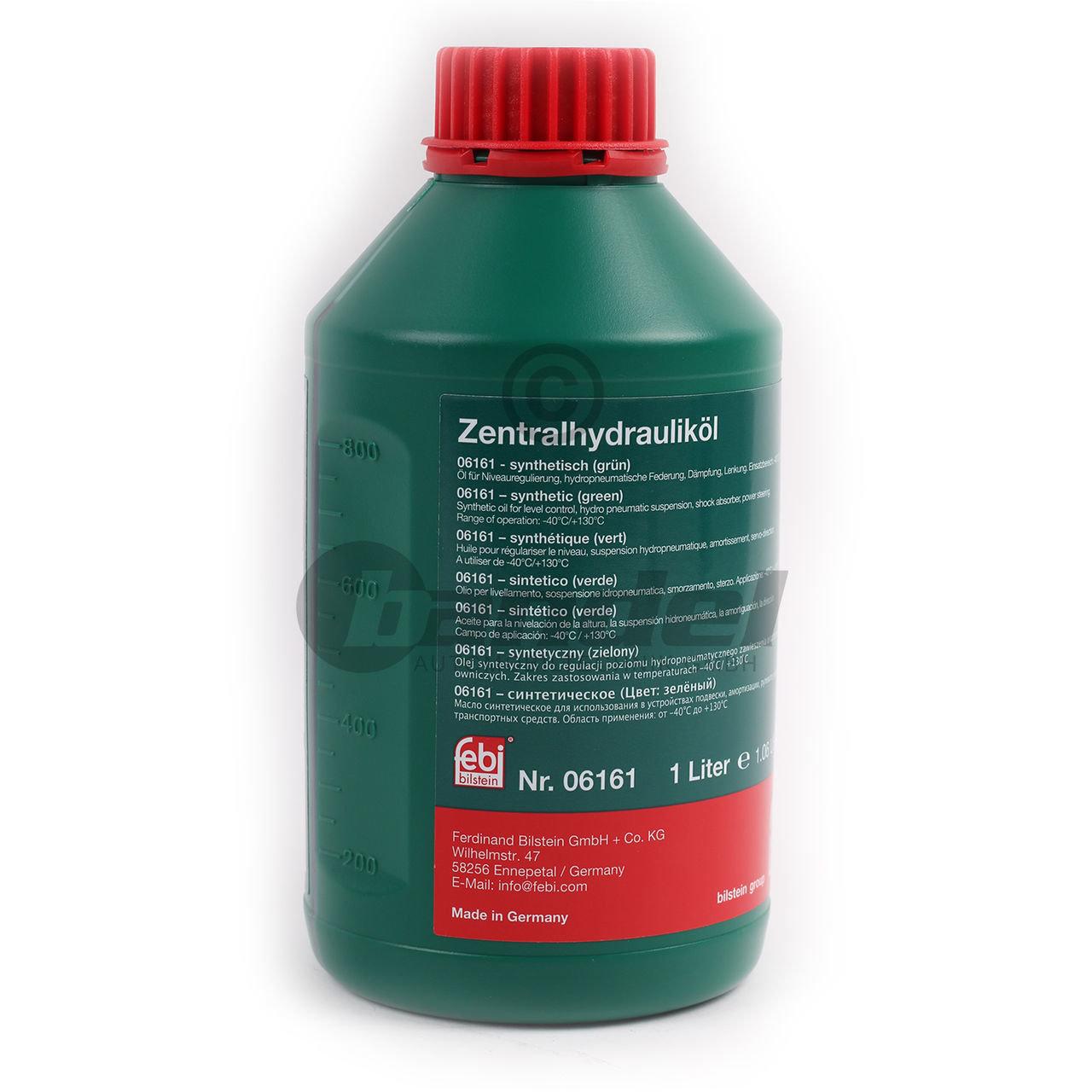 Жидкость гидроусилителя FEBI 06161 Жидкость ГУР зеленая 1л
