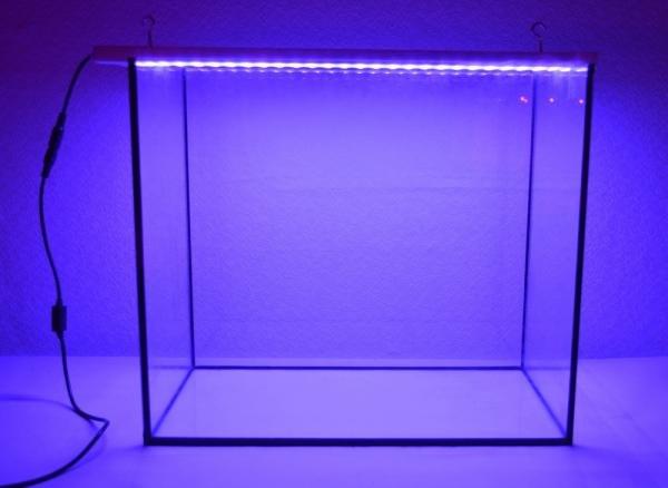 Лампа для аквариумов. Эффективная светодиодная энергосберегающая фито лампа для роста аквариумных растений.