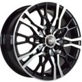 Диски R16 5x112 6,5J ET33 D57,1 NZ Wheels SH 658 BKF - фото 1