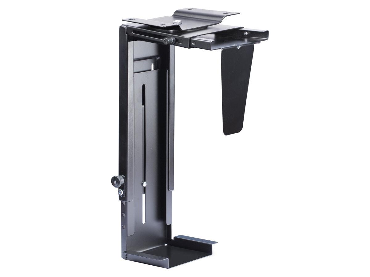 ErgoFount BPCH-06 Подставка для системного блока под стол с возможностью вращения, до 10 кг Цвет - черный