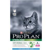 Сухой корм Pro Plan Sterilised для кастрированных и стерилизованных кошек (3 кг, Кролик)