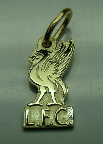Подвеска Ливерпуль золото