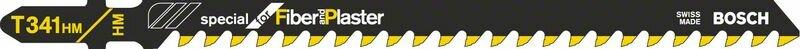 Пильное полотно T 341 HM Bosch Special for Fiber and Plaster (2608633176)