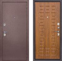 Дверь Снедо Йошкар РФ Золотой Дуб 860х2050 мм (для квартиры или дачи) открывание левое