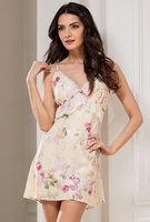 """Женская ночная сорочка """"Кремовые цветы"""""""