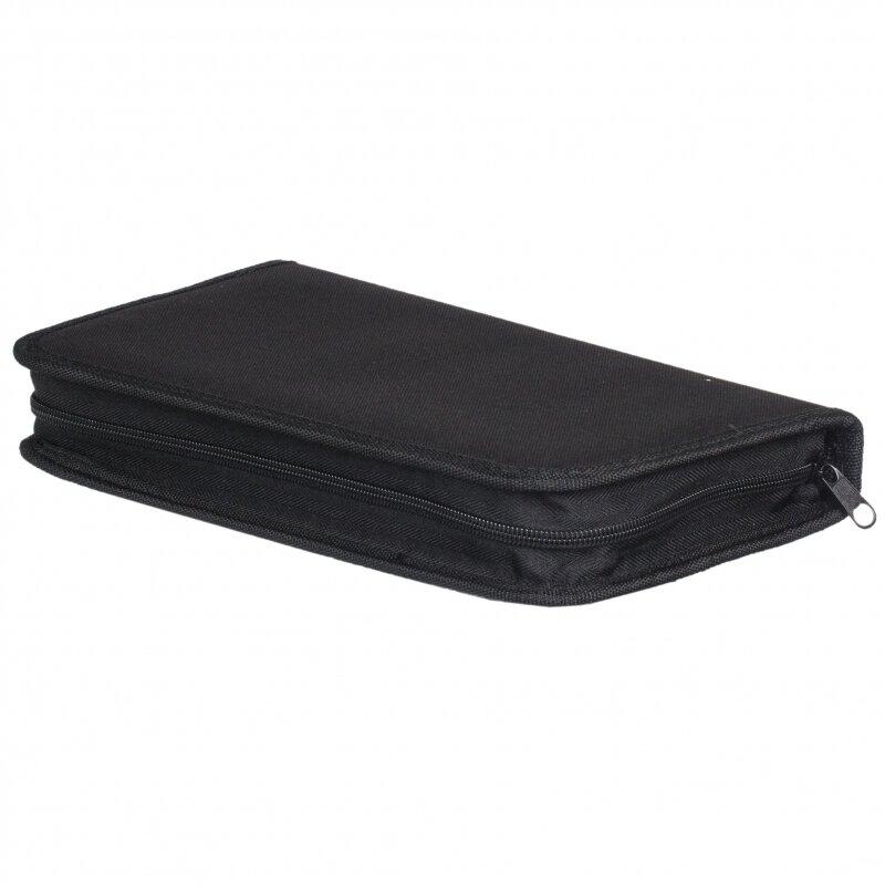 Портмоне HAMA H-11616 для 64 CD чёрный (825702)