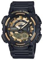 Мужские часы Casio AEQ-110BW-9A кварцевые