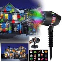 Лазерный праздничный новогодний светильник проектор Slide Shower Slide Show (12 слайдов)