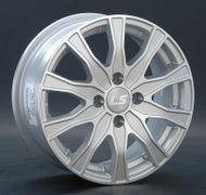 Диски LS Wheels 168 6,0x14 4x100 D73.1 ET39 цвет SF (серебро,полировка) - фото 1