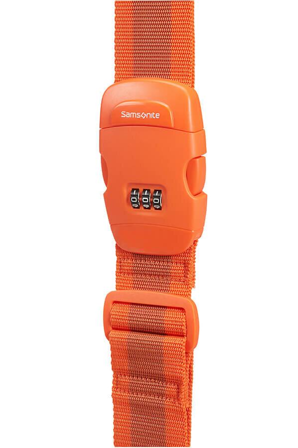 Аксессуар Samsonite Багажный ремень CO1*058 Travel Accessories Luggage Strap/Lock *96 Orange