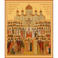 Икона Собор новомучеников и исповедников Церкви Русской, арт MSM-673