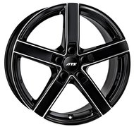 ATS Emotion 8,0x18 5/114,3 ET35 d-70,1 Diamond Black Front Polished (EM80835B83-1) - фото 1