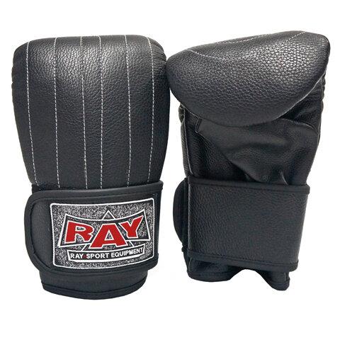 Перчатки снарядные Рэй-Спорт Ягуар лС25И искусственная кожа - Цвет: Черный