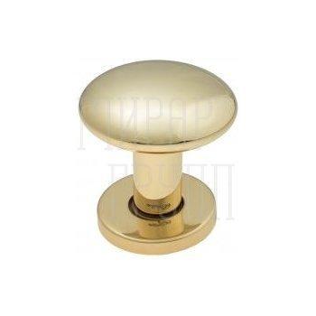 Дверные ручки-кнобы Ручка дверная кноб поворотная Fratelli Cattini BRESCIA P34 Ø62 полированная латунь