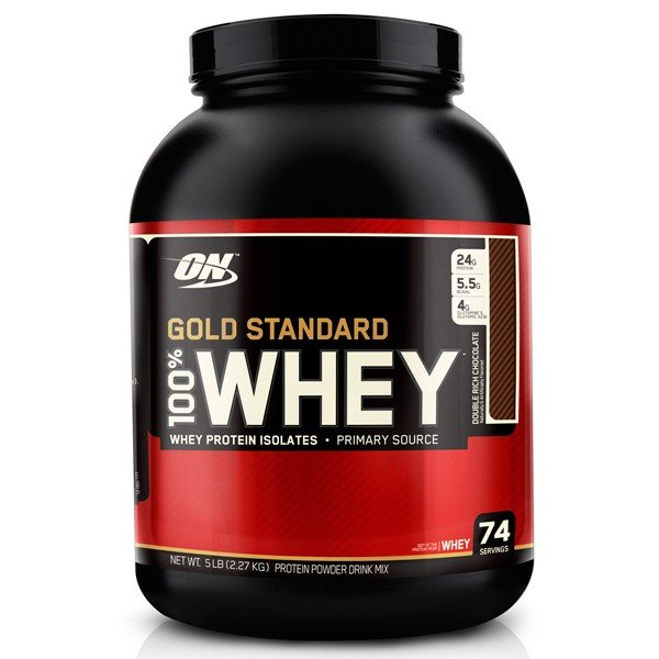 Optimum Nutrition 100% Whey Gold Standard - 2270 грамм (банан)