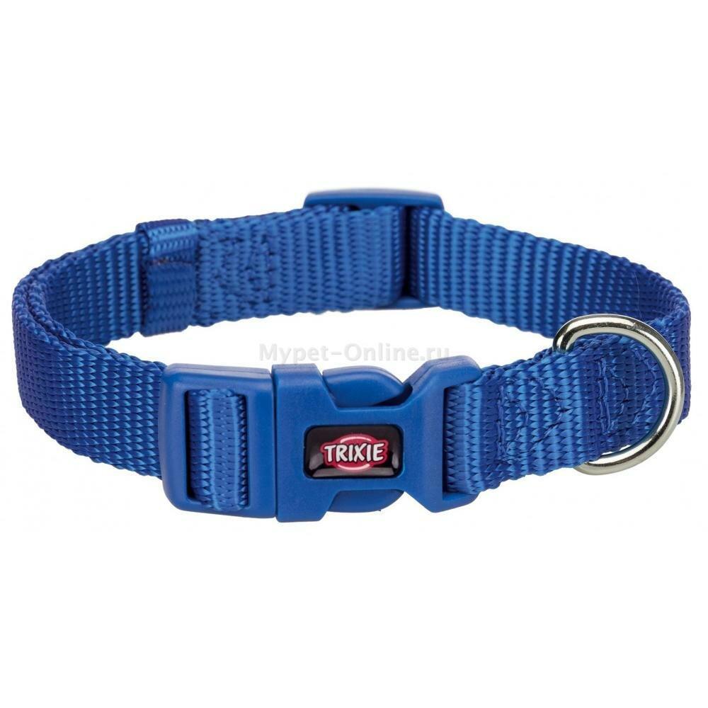 Ошейник для собак Trixie Premium L, синий