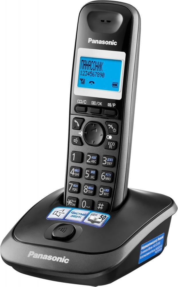 Радиотелефон Panasonic KX-TG2511 (темно-серый)