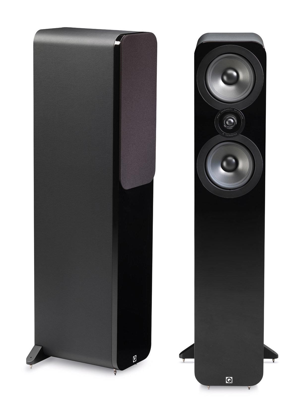 Напольная акустика Q Acoustics Q3050 gloss black