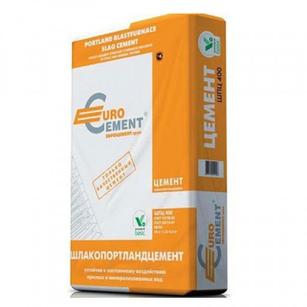 Цемент Евроцемент шпц-400 (50кг)