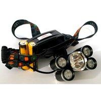 Мощный налобный аккумуляторный фонарь
