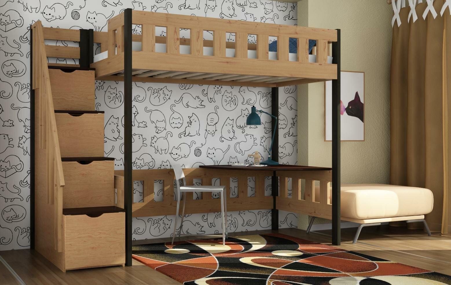 Кровать-чердак Руфина 36.1