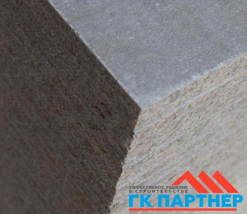 Цементно-стружечная плита (ЦСП I) 500х1200х10 мм