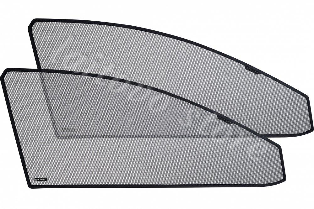 Laitovo Автомобильные шторки Chiko передние на Toyota Land Cruiser Prado 4G Внедорожник 5D (2009 - н.в.) 150 / стекло задней двери не открывается