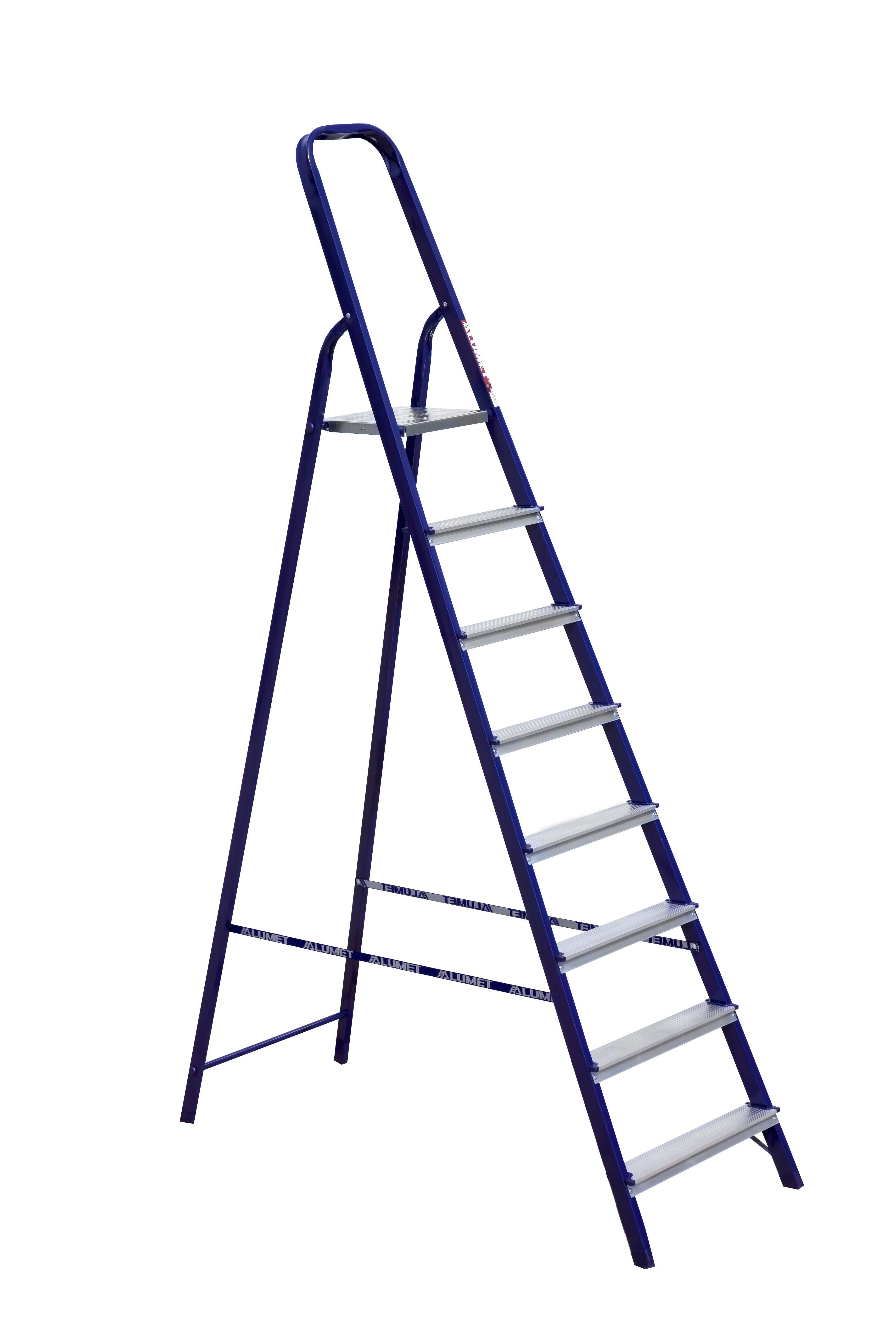 Лестница стремянка стальная 8 ступ, Алюмет