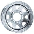 Штампованные диски Dotz Dakar 7x16 6/139,7 ET13 d110 (silver) - фото 1