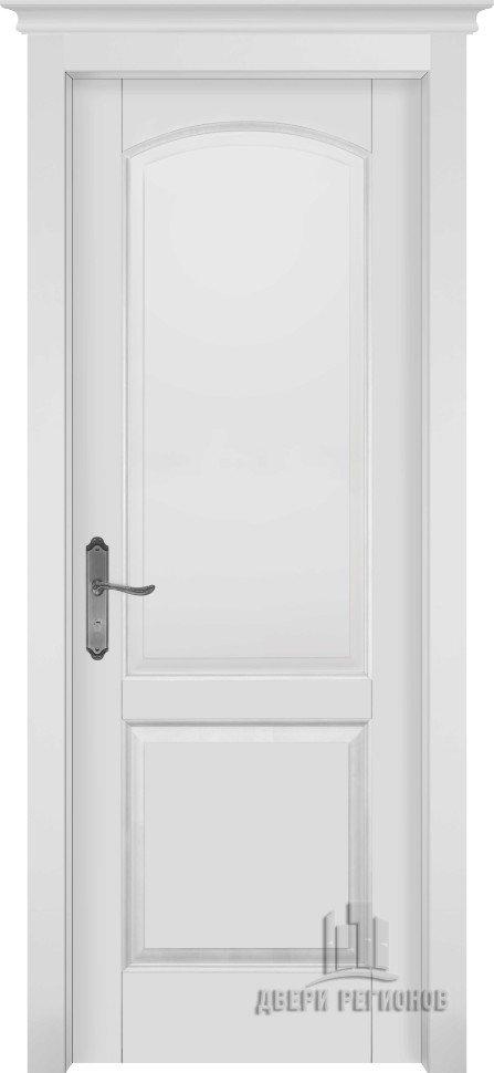Белорусские двери из массива ольхи фоборг (Эмаль белая ПГ)