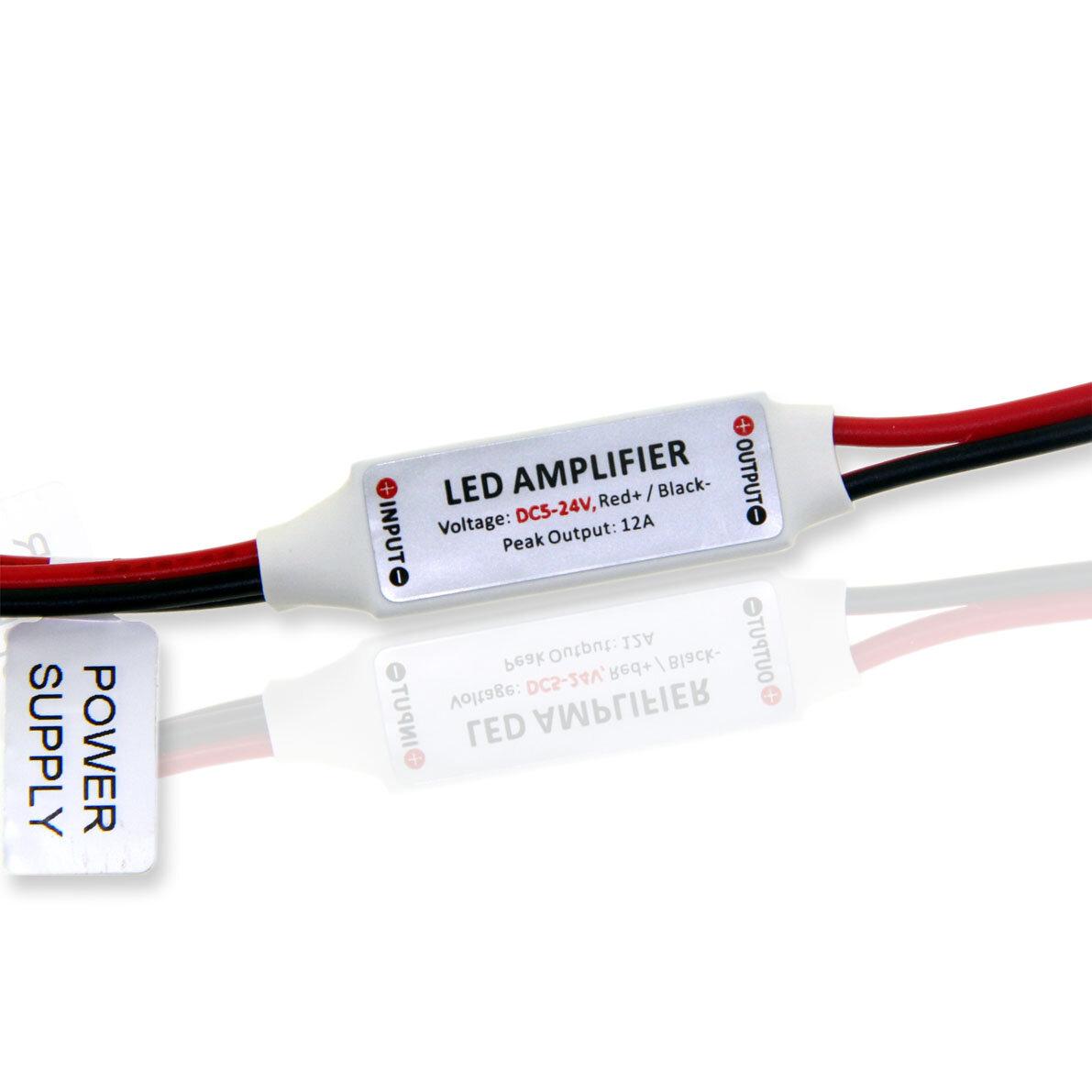 Одноканальный усилитель Mini-10A (5-24V, 50/144/288W)