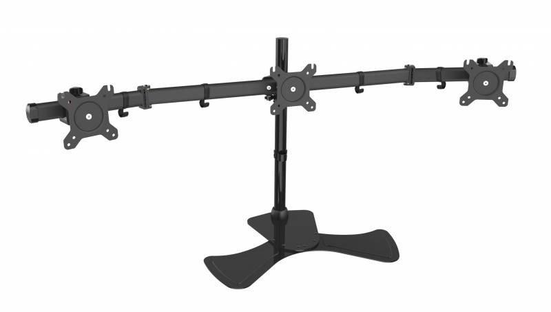 Кронштейн для мониторов Cactus CS-VM-MP330S-BK черный 15