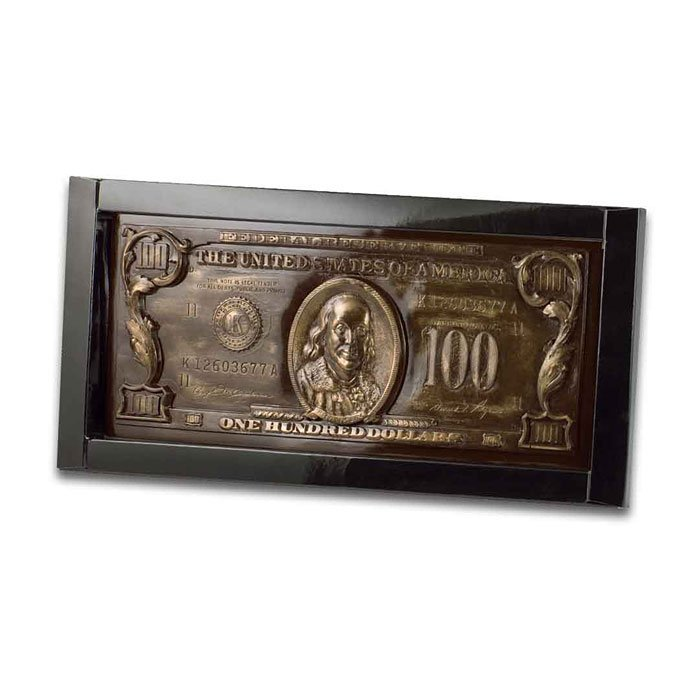 """Шоколадные деньги """"100 долларов"""""""