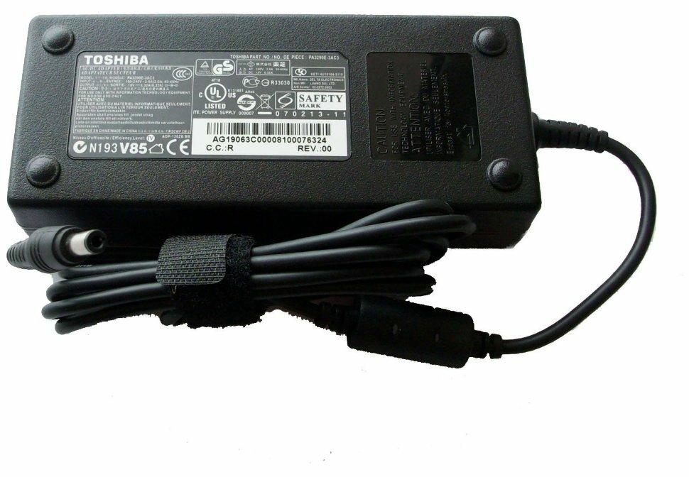 Блок питания Toshiba (для ноутбуков) 19v 6.32a (120w) разъём 5.5x2.5мм