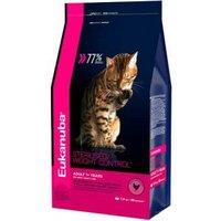 Корм для кошек Eukanuba Adult Dry Cat Food For Sterilised Cats Weight Control Chicken 10 кг
