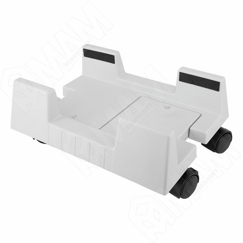 Подставка для системного блока с колесными опорами, серый (2098.987)