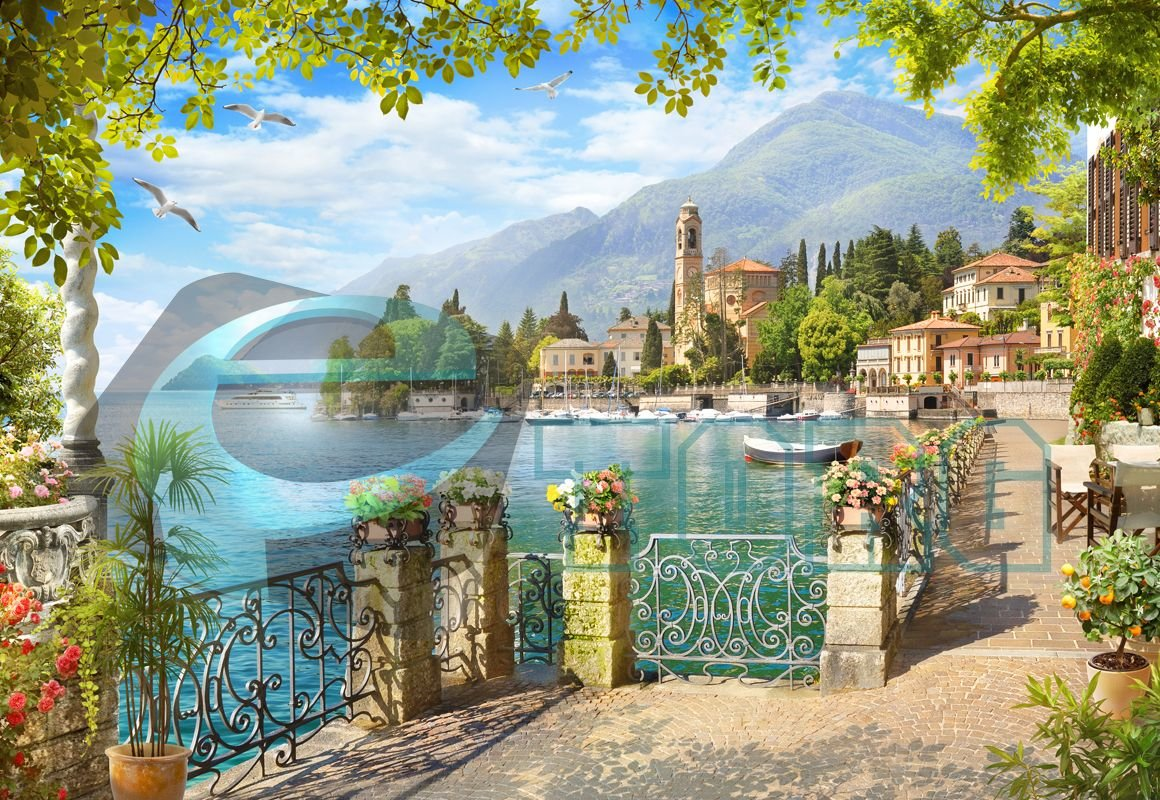 Открытка средиземноморье