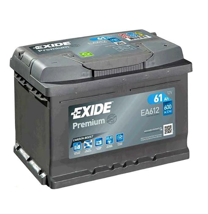 Автомобильный аккумулятор Exide EA602 60A/h 600A
