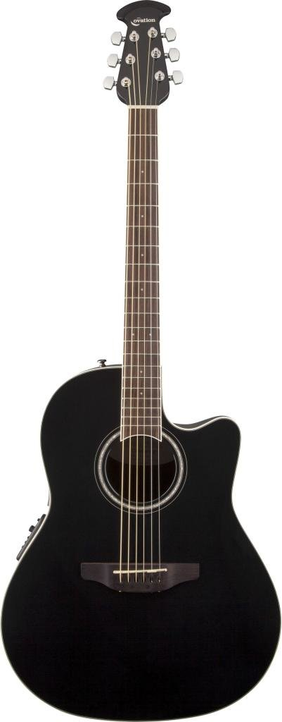OVATION CS24-5 Celebrity Standard Mid Cutaway Black электроакустическая гитара