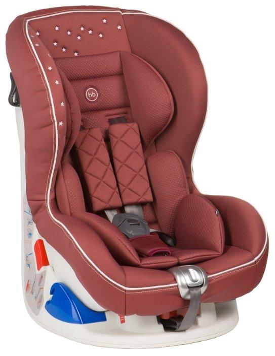 Автокресло группы 0+ (0-18 кг) Happy Baby Taurus V2, wine red