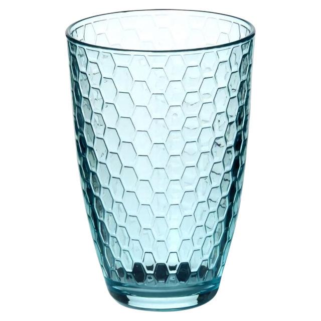 стакан PASABAHCE Enjoy Loft голубой 360мл высокий стекло