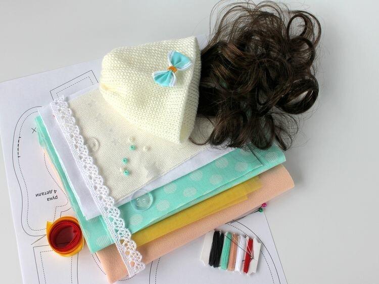 Набор для шитья Цветной Принцесса Космея