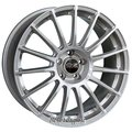 Диск OZ Racing Superturismo LM 7.5x17/5x120 D79 ET47 Matt Race Silver + Black Letters - фото 1