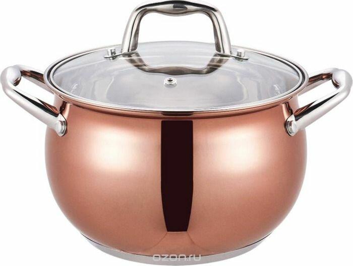 Кастрюля Premium Copper Winner WR 1282 7 л